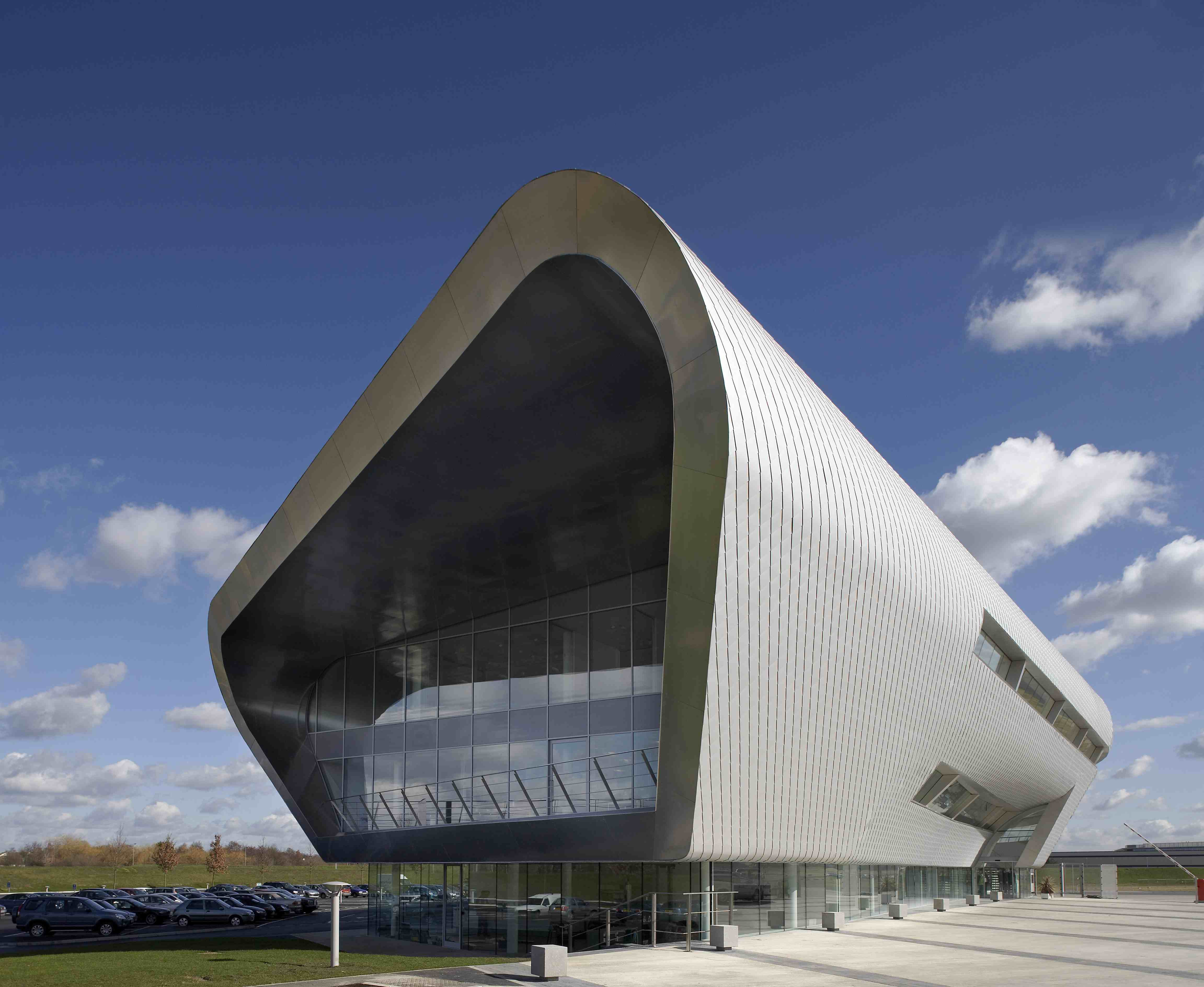 exterior of farnborough airport - the office fit out location